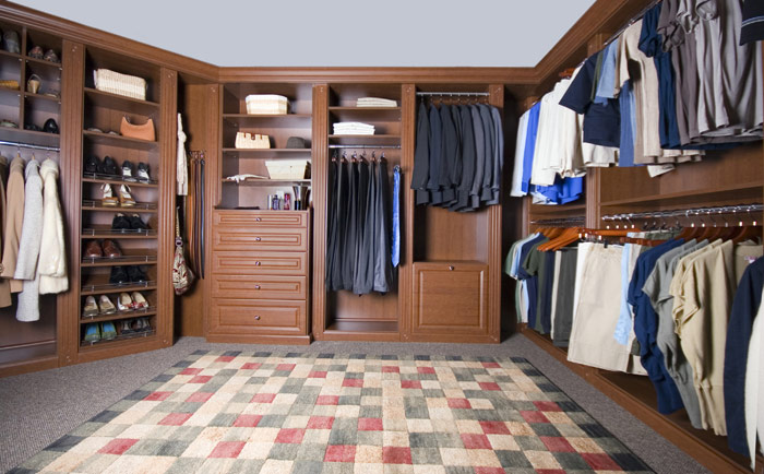 AboutSpace Home Organizing System - High end closet design
